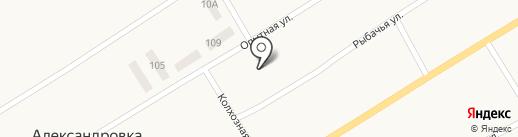 Днiпропетровська дослiдна станцiя на карте Александровки