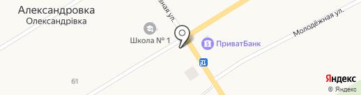 Ласунчик на карте Александровки