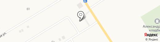Фармація, КП на карте Александровки
