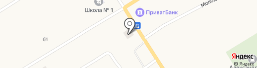 Вета на карте Александровки