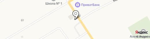 Цветочный магазин на карте Александровки