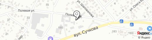 Все из бетона на карте Новомосковска