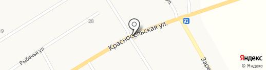 Продуктовый магазин на карте Александровки