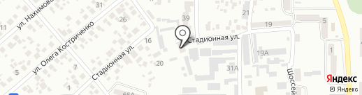 Дніпрообленерго, ПАТ на карте Новомосковска
