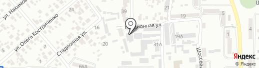 Магазин счетчиков на карте Новомосковска