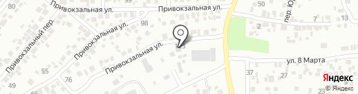 Державна інспекція сільського господарства Дніпропетровської області на карте Новомосковска
