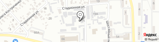 Pilot Racing на карте Новомосковска