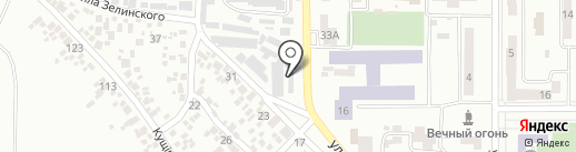 Государственное похоронное бюро на карте Новомосковска