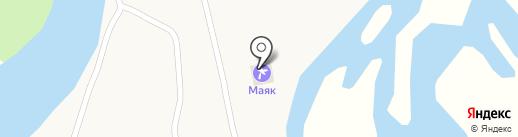 Маяк на карте Новосёловки