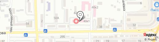 Банкомат, КБ ПриватБанк на карте Новомосковска