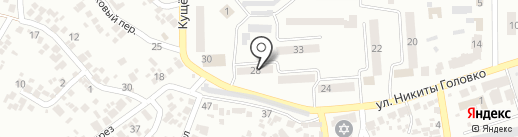 Адвокат Иванов М.М. на карте Новомосковска