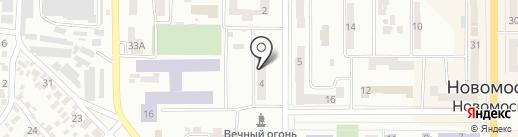 Общественная приемная депутата Днепропетровского областного совета Резник С.А. на карте Новомосковска