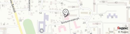 Новомосковська міська стоматологічна поліклініка на карте Новомосковска