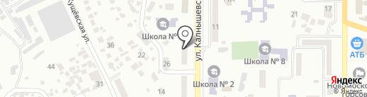 12 Volt на карте Новомосковска