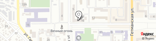 Navigator на карте Новомосковска