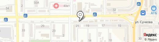 Банкомат, КБ ПриватБанк, ПАО на карте Новомосковска