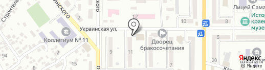 Фирма на карте Новомосковска