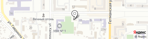 НовоВет на карте Новомосковска