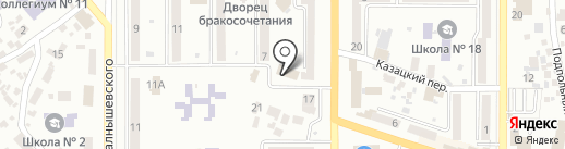 Вечность на карте Новомосковска