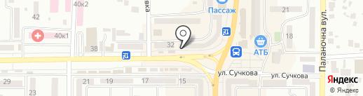 Аптека оптовых цен на карте Новомосковска