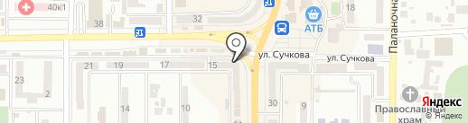 ИмпериалЪ на карте Новомосковска