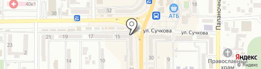 АЛЛО на карте Новомосковска