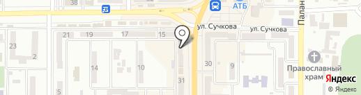 Банкомат, Credit Agricole, ПАО КРЕДИ АГРИКОЛЬ БАНК на карте Новомосковска