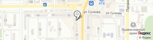 Карамелька на карте Новомосковска