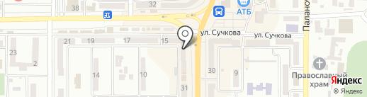 ЛОТО МАРКЕТ на карте Новомосковска
