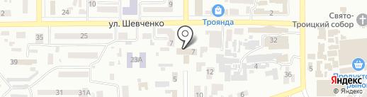 Фінансове управління Новомосковської районної державної адміністрації на карте Новомосковска