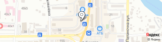Техноскарб на карте Новомосковска