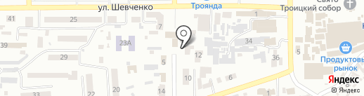 Геопро на карте Новомосковска