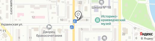 Violet Boutique на карте Новомосковска