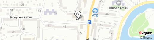 Ателье по ремонту одежды на карте Новомосковска