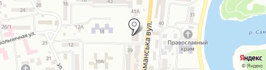 Медицинский кабинет на карте Новомосковска