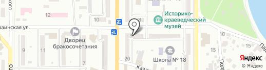 Карапуз на карте Новомосковска