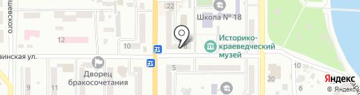 380 VOLT на карте Новомосковска