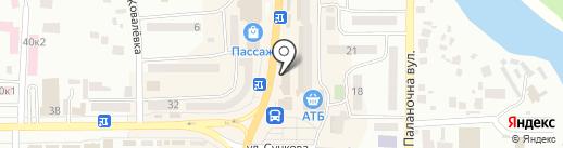 RAWstudio на карте Новомосковска