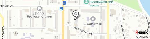 Berlin Market на карте Новомосковска