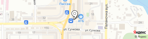 EasyPay на карте Новомосковска
