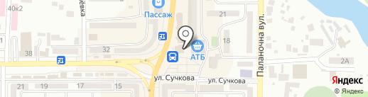 Bon Jour Menu на карте Новомосковска