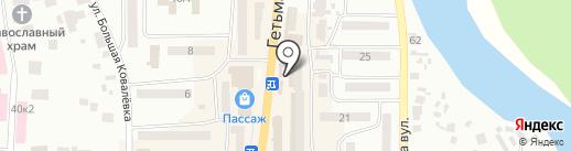 Ozon на карте Новомосковска
