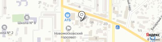 Стройдеталь на карте Новомосковска
