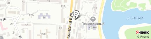 Image by Uglik Katerina на карте Новомосковска