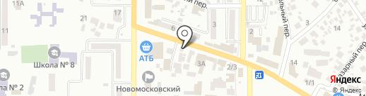Мамины блинчики на карте Новомосковска