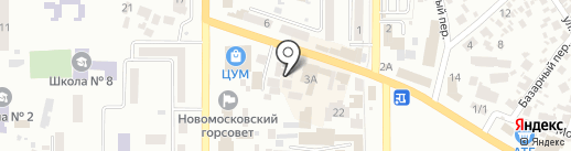 My Pole Fitness Dance на карте Новомосковска