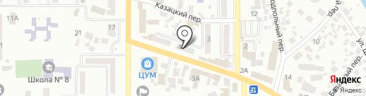 Адвокат Маймор А.В. на карте Новомосковска