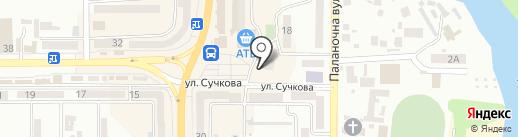 Eva на карте Новомосковска