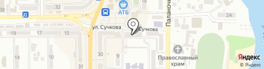 Chocolate на карте Новомосковска