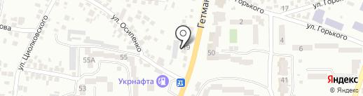 Авторитет на карте Новомосковска
